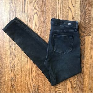 Kut from the Kloth Donna Skinny Soft Black Jeans